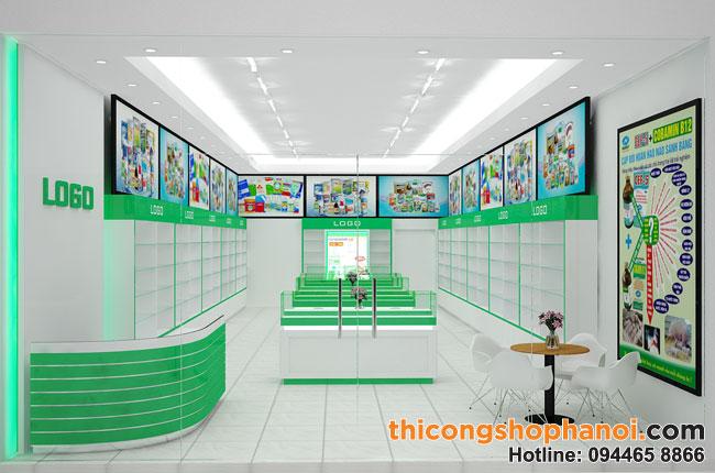 Top 10 thiết kế cửa hàng thuốc thú y đẹp