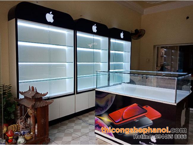 Thiết kế và thi công cửa hàng điện thoại tại Tp.  Hải Phòng