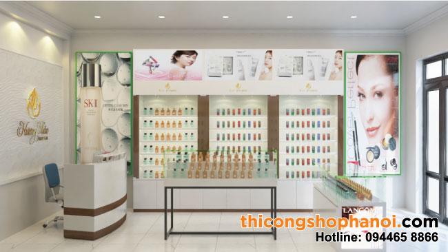 Thiết kế shop Mỹ phẩm Hương Thảo