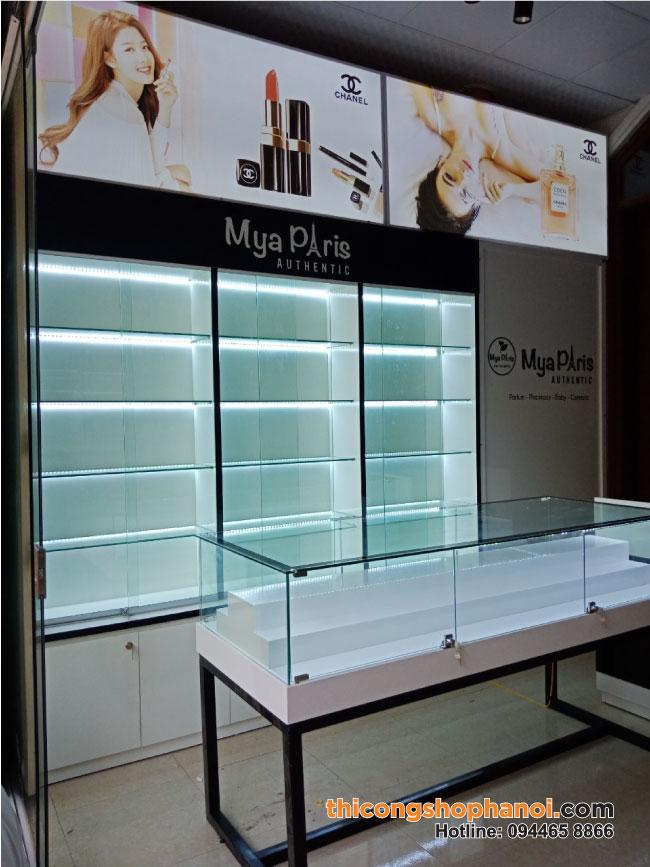 Thiết kế thi công Shop mỹ phẩm Mya Paris