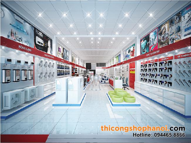 Thiết kế Cửa hàng điện máy Hải Thủy tại Tp. Hà Giang