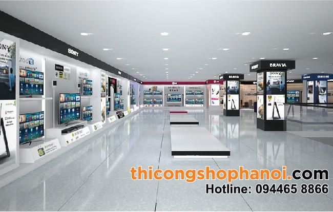 Thiết kế Showroom điện máy Victory Plaza 350 m2 tại Tp. Thái Bình