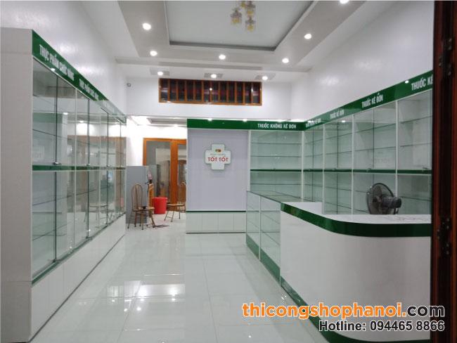 Thi công nhà thuốc đạt tiêu chuẩn GPP tại Cẩm Thủy Thanh Hóa