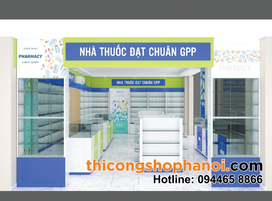Thiết kế nhà thuốc đạt chuẩn GPP tại Hà Nội